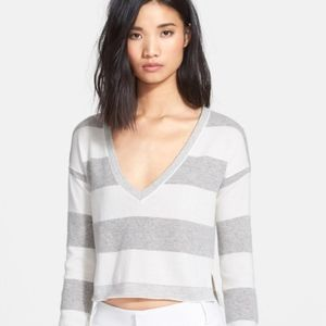 Alice & Olivia Striped Sweater - M